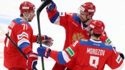 Сборная России по хоккею обыграла Чехию со счетом 4:1