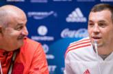 Черчесов включил Дзюбу в пятёрку лучших футболистов России