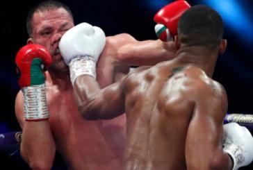 Джошуа защитил титулы чемпиона мира по боксу, отправив Пулева в нокаут