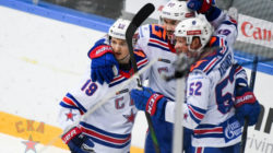 Стало известно расписание матчей первого раунда плей-офф КХЛ
