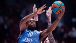 Баскетбольный «Зенит» примет израильский «Маккаби» в матче Евролиги