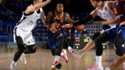 Баскетбольный «Зенит» сенсационно обыграл «Барселону» в плей-офф Евролиги
