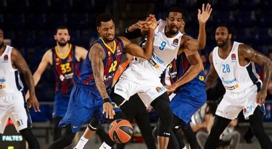 Баскетбольный «Зенит» сегодня примет «Барселону» в четвертом матче 1/4 финала Евролиги