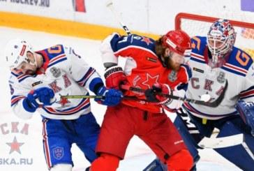 СКА и ЦСКА встретятся сегодня в шестом матче полуфинальной серии Кубка Гагарина
