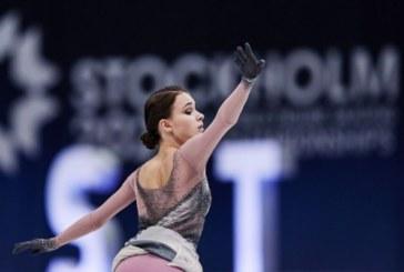 Щербакова и Туктамышева стали лучшими в короткой программе на командном ЧМ в Японии