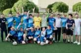 Денис Терентьев провел мастер-класс для футболистом с церебральным параличом
