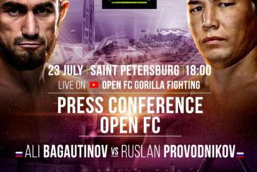 Руслан Проводников проведёт боксерский поединок с Али Багаутиновым в Санкт-Петербурге
